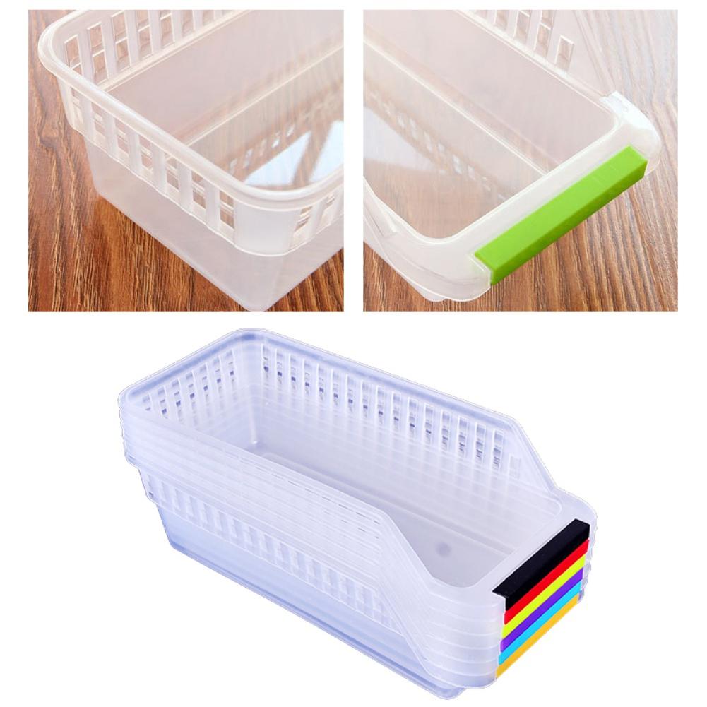 Refrigerator Drawer Organizer Freezer Storage Bins Collectin